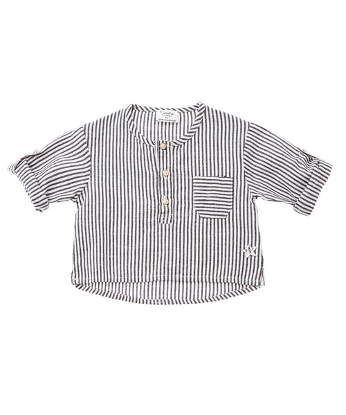 Tocoto Vintage Striped Baby Shirt