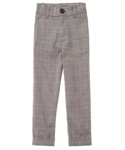 Tocoto Vintage Boys Plaid Trousers