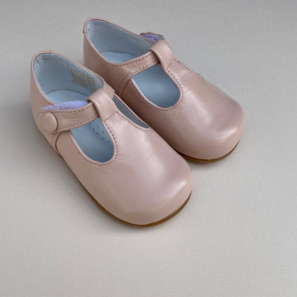 Papouelli Sacha Pale Pink Shoes