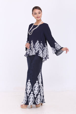 Qalisha in Navy Blue