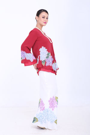 Azura - Kebaya - Red