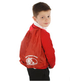 Undy Primary School Red Gymsac with Logo