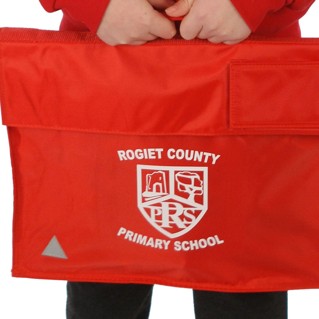 Rogiet School Bookbag with Logo