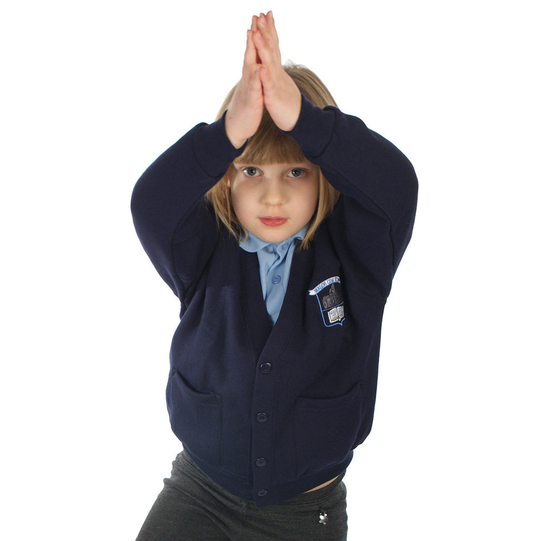 Magor CIW School Cardigan with Logo