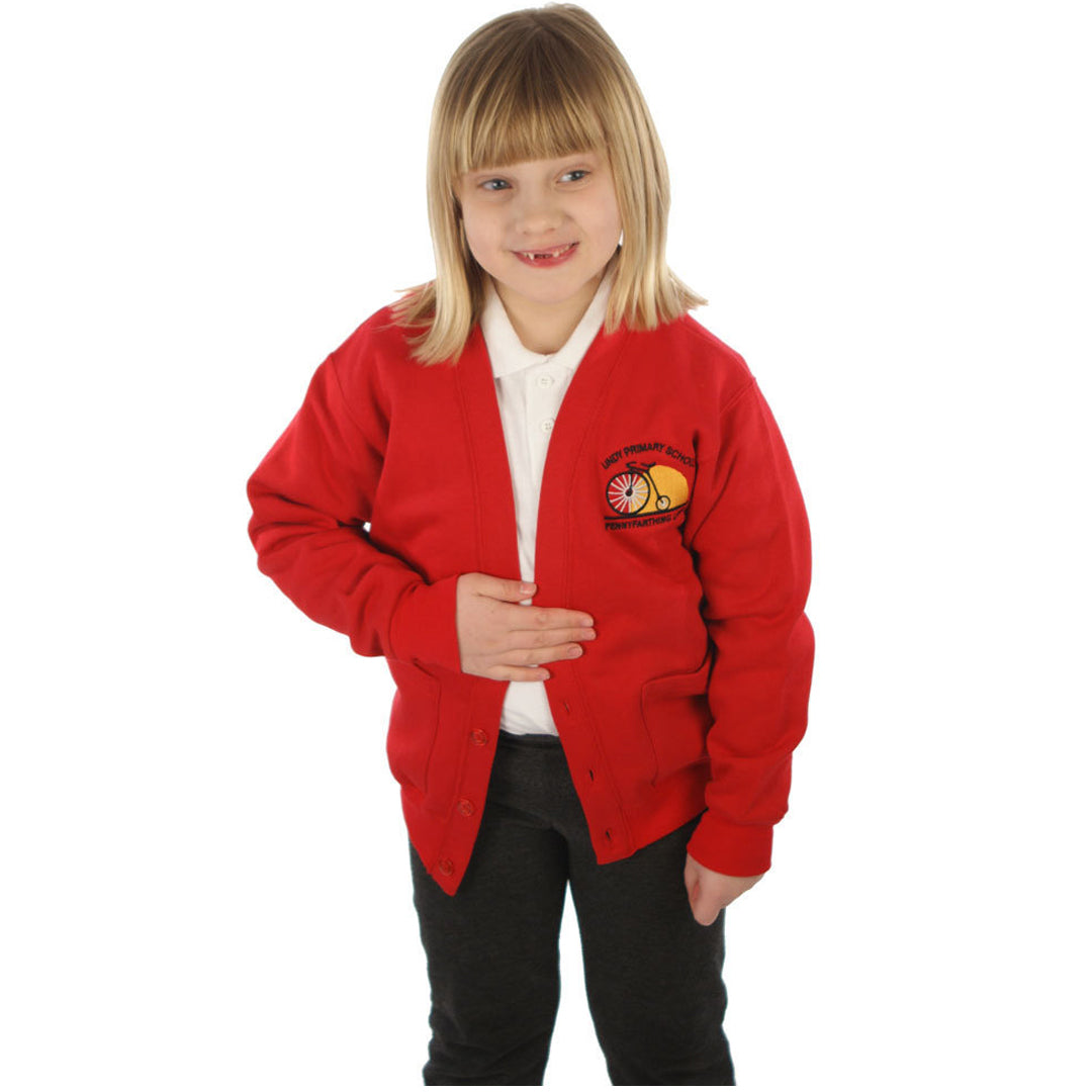 Undy Primary School Cardigan with Logo