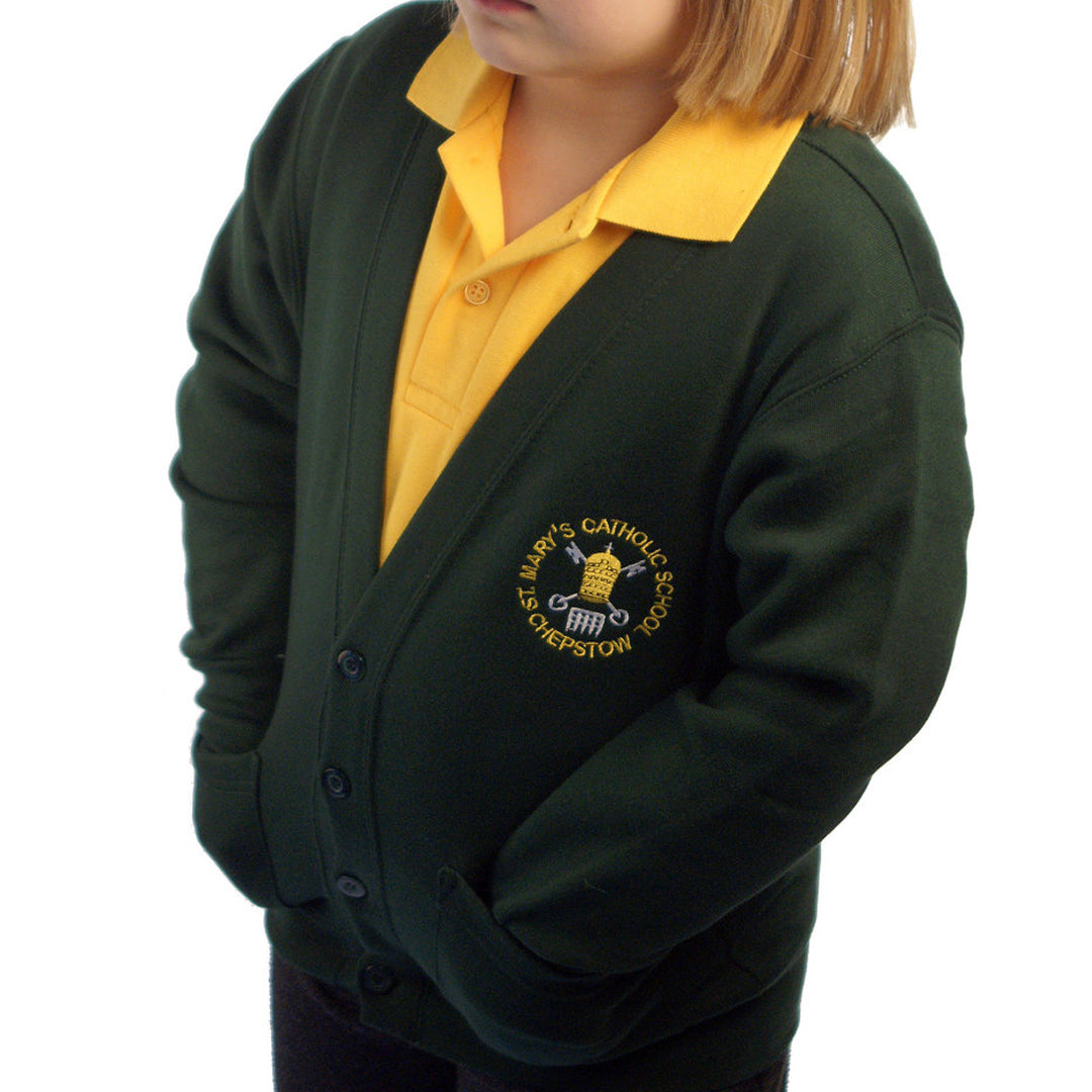 St Mary's RC School Cardigan with Logo