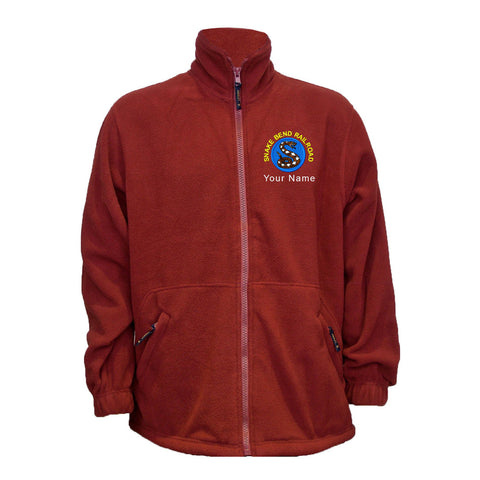 Snake Bend Railroad Fleece