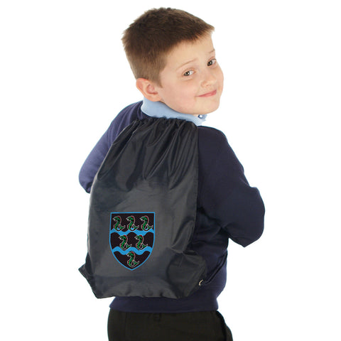 Tutshill Primary School Gymsac with Logo