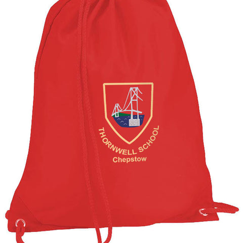Thornwell Primary School Gymsac with Logo