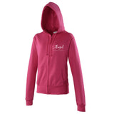 Angel School of Dance Hoodie Hot Pink - Kids