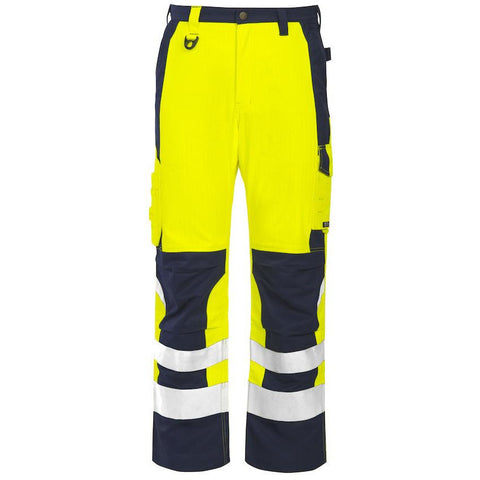 Projob 8504 FLAME RETARDANT HIGH VISIBILITY TROUSERS