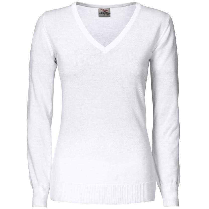 Printer Forehand Lady knitted v-neck