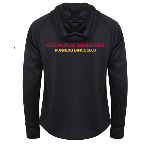 Chepstow Harriers - Men's Lightweight running jacket with reflective tape