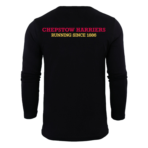 Chepstow Harriers - Long Sleeve Men's performance t-shirt