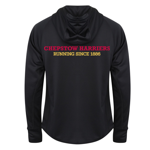 Chepstow Harriers - Women's Lightweight running jacket with reflective tape