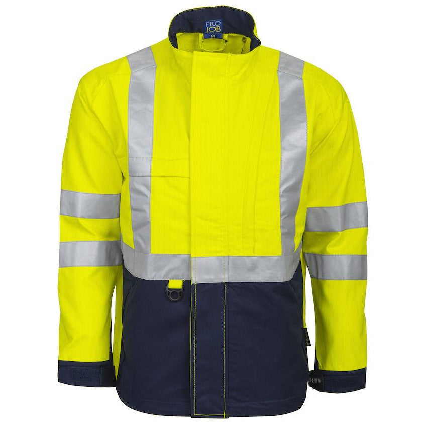Projob 8402 FLAME RETARDANT HIGH VISIBILITY JACKET