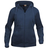 BASIC HOODY FULL ZIP LADIES