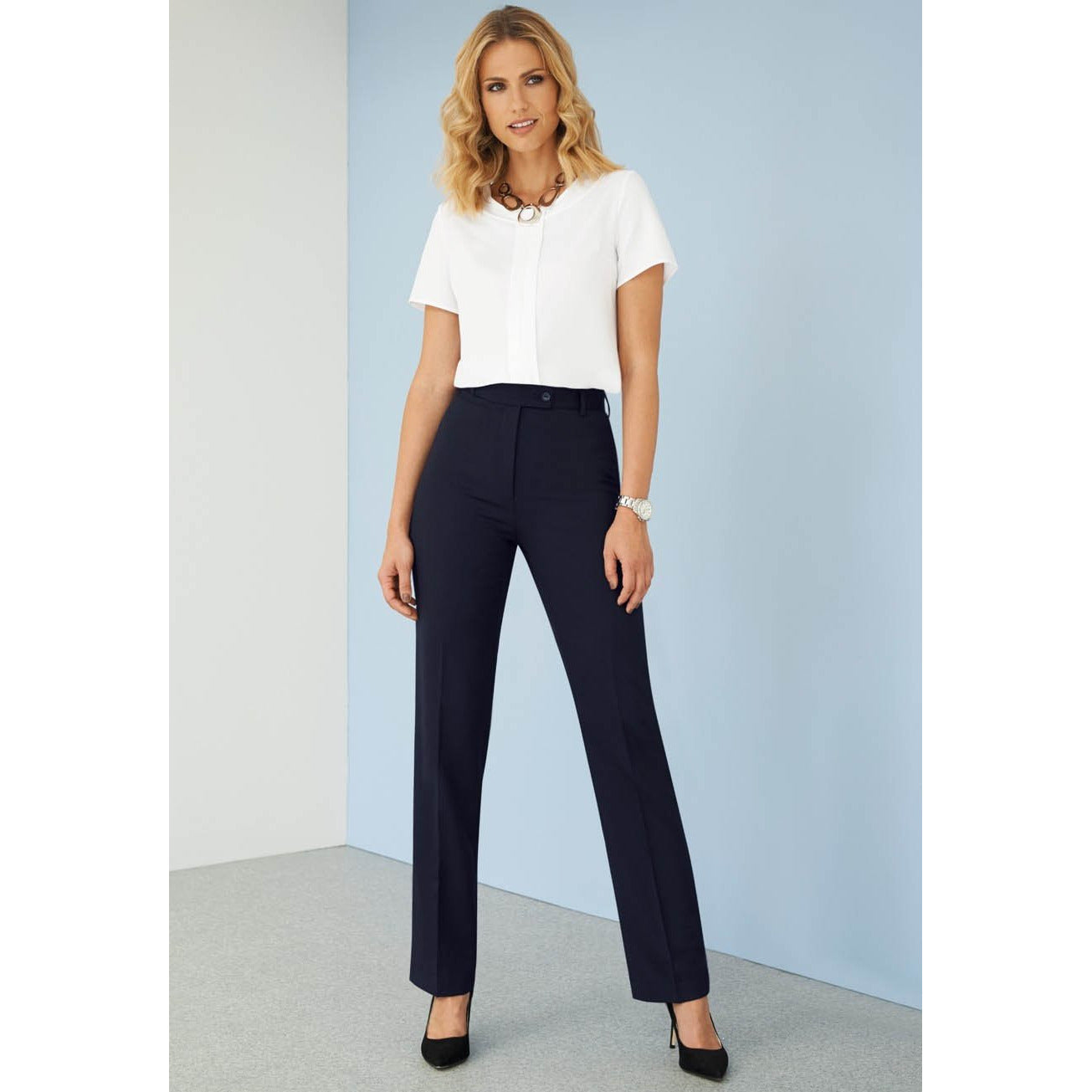 Grosvenor Straight Leg Trouser