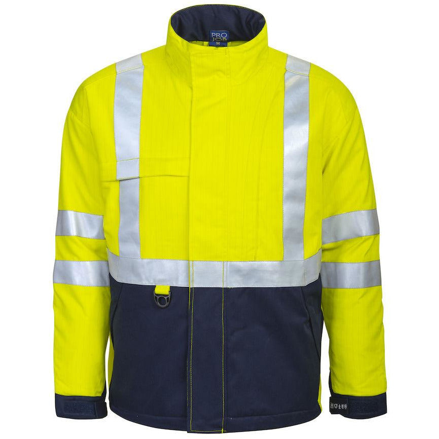 Projob 8404 LINED FLAME RETARDANT HIGH VISIBILITY JACKET
