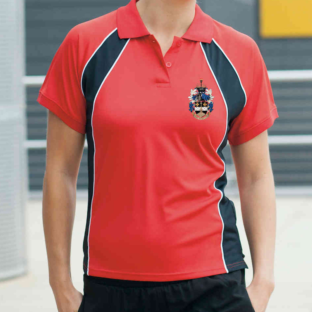 Lydney Swim Club Ladies Performance Team Polo Shirt
