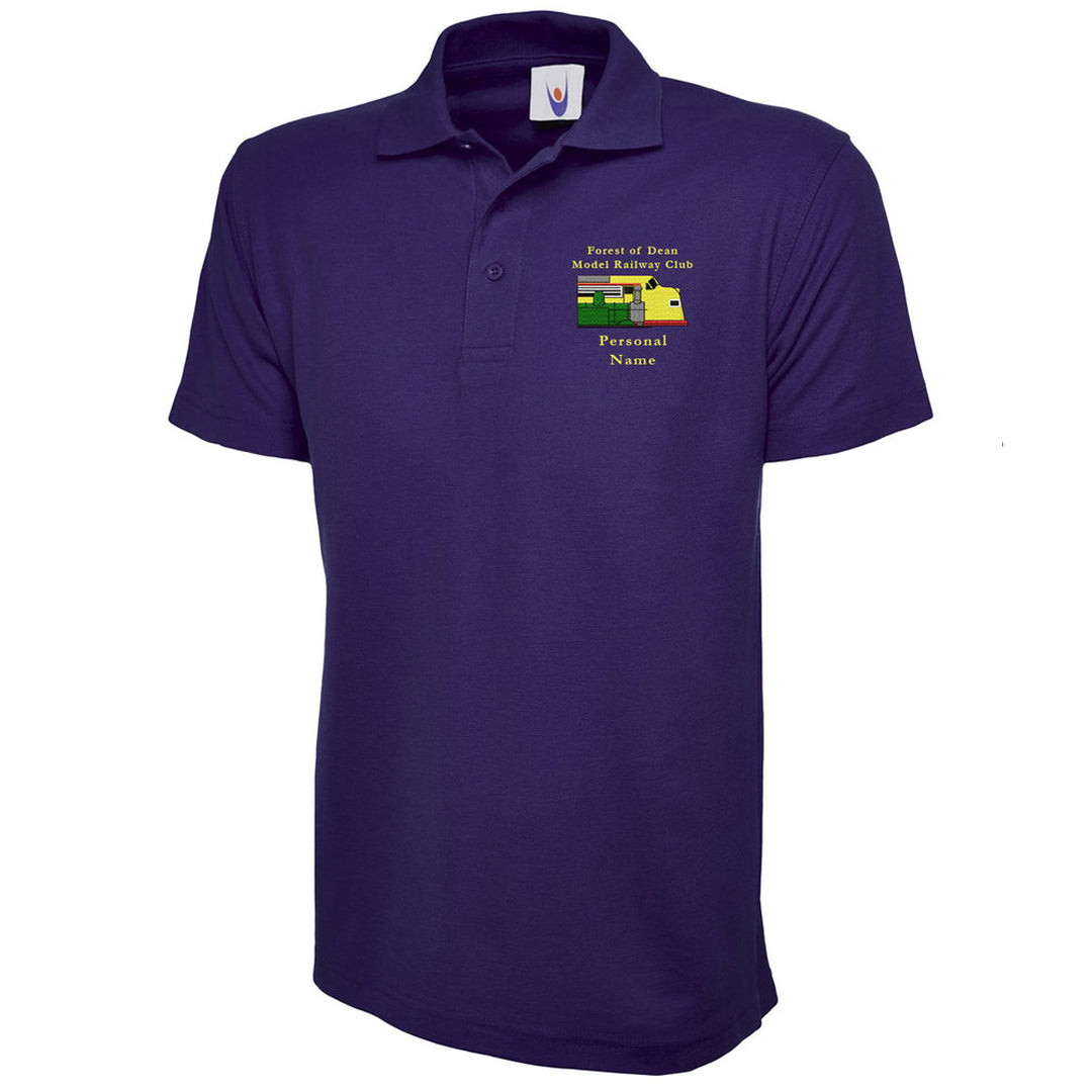 Forest of Dean Model Railway Club Polo Shirt