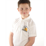 Undy Primary School White Polo Shirt with Logo