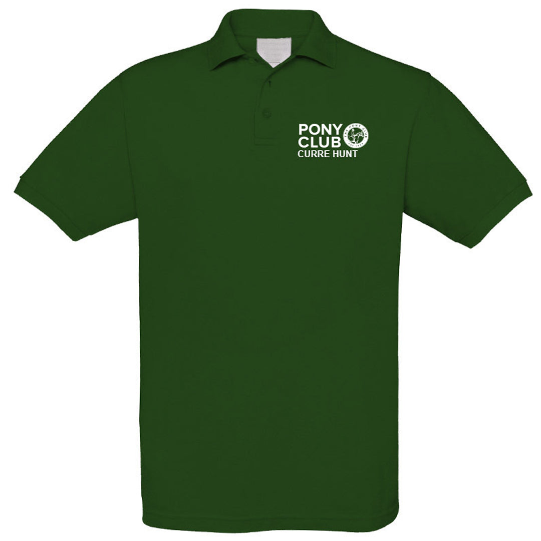 The Pony Club Polo Shirt in 3 Colours with Logo - Adult
