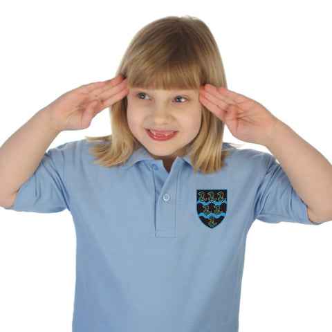 Tutshill Primary School Polo Shirt with Logo