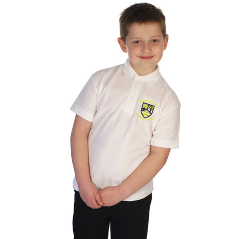 Rogiet School Polo Shirt with Logo