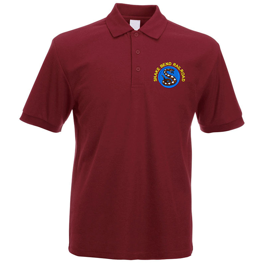 Snake Bend Railroad Polo Shirt