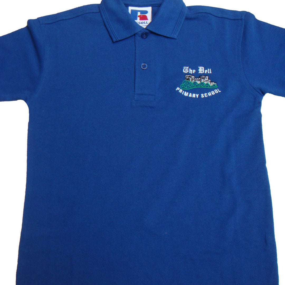 The Dell School Polo Shirt with Logo