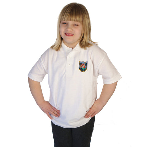Castle Park School Polo Shirt with Logo