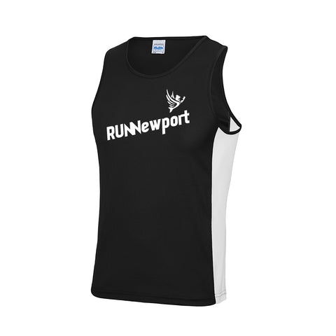 RUNNewport - Men's contrast vest