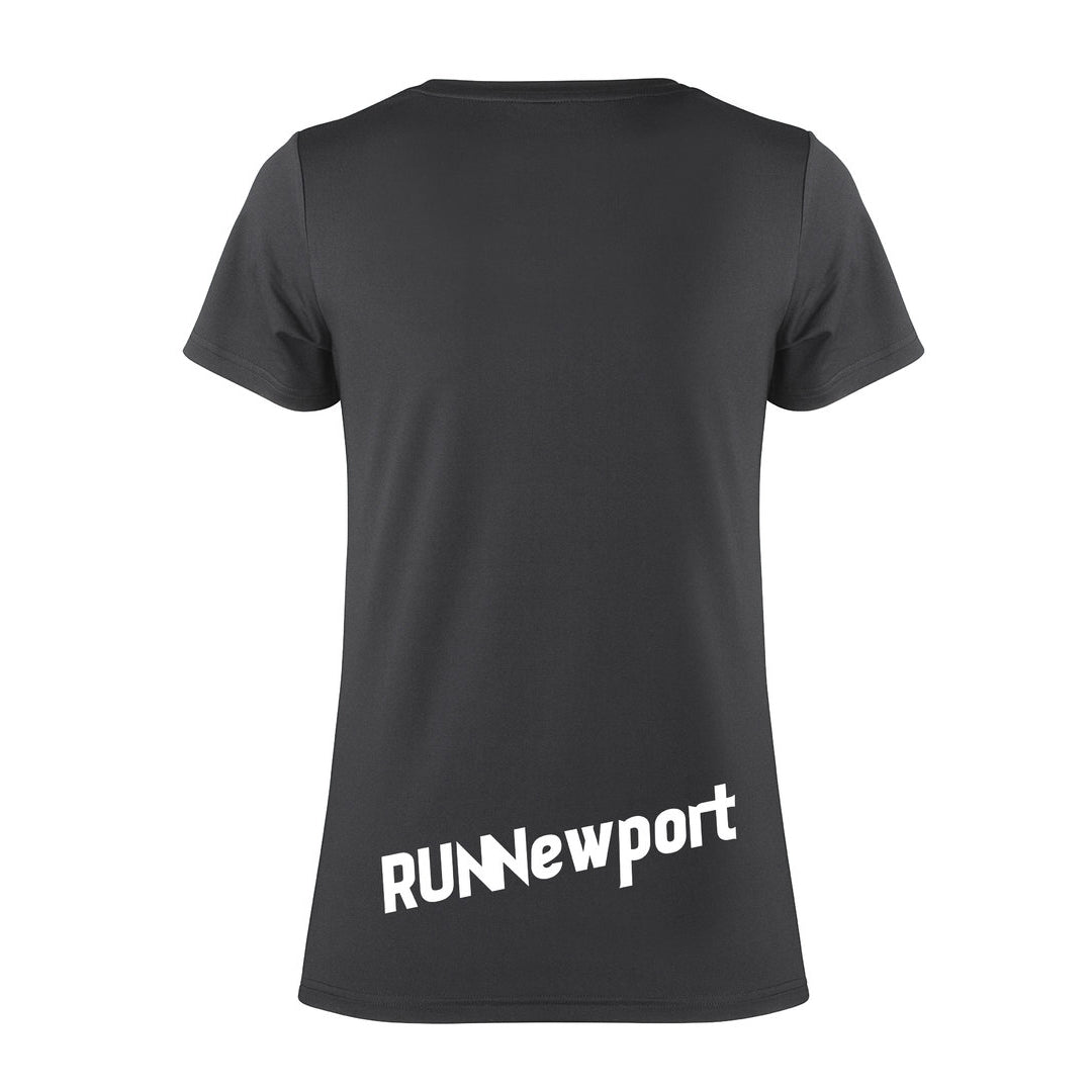 RUNNewport - Men's quick-dry short sleeve running t-shirt