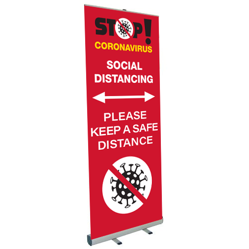 COVID-19 - Roller Banners
