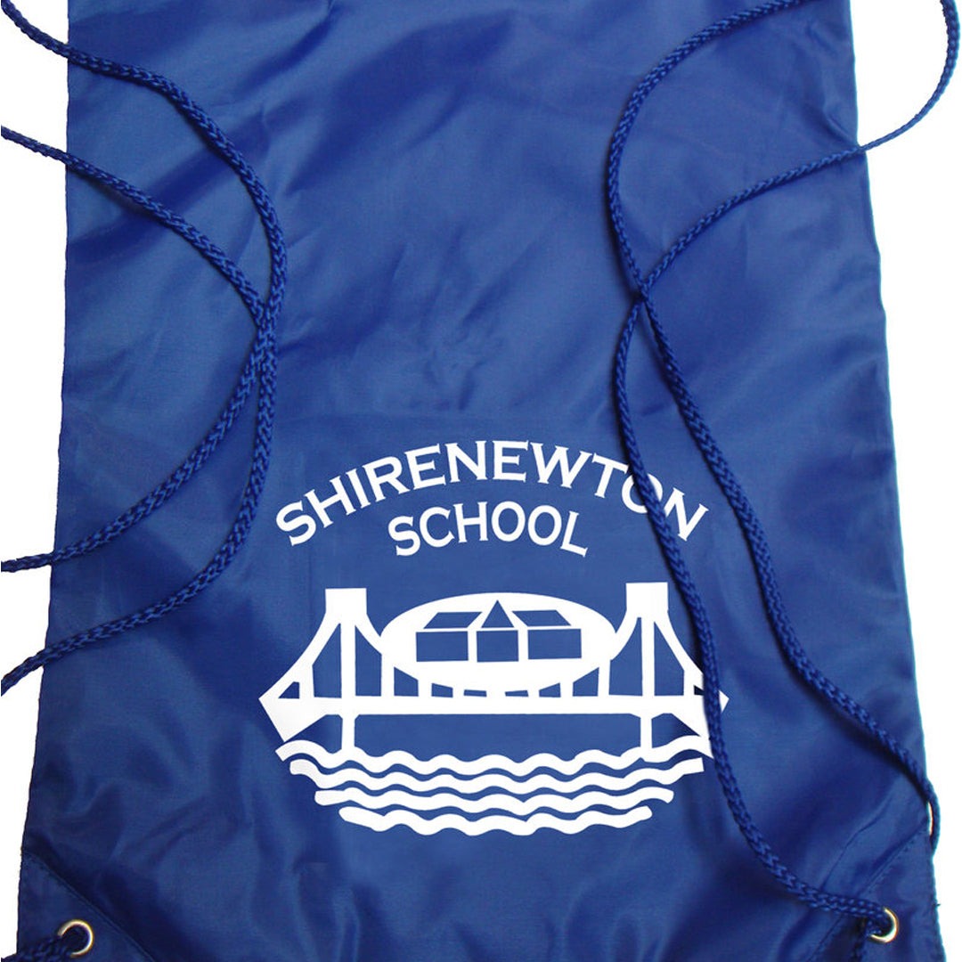 Shirenewton School Gymsac with Logo