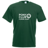 The Pony Club T-Shirt with Logo in 3 Colours - Adult