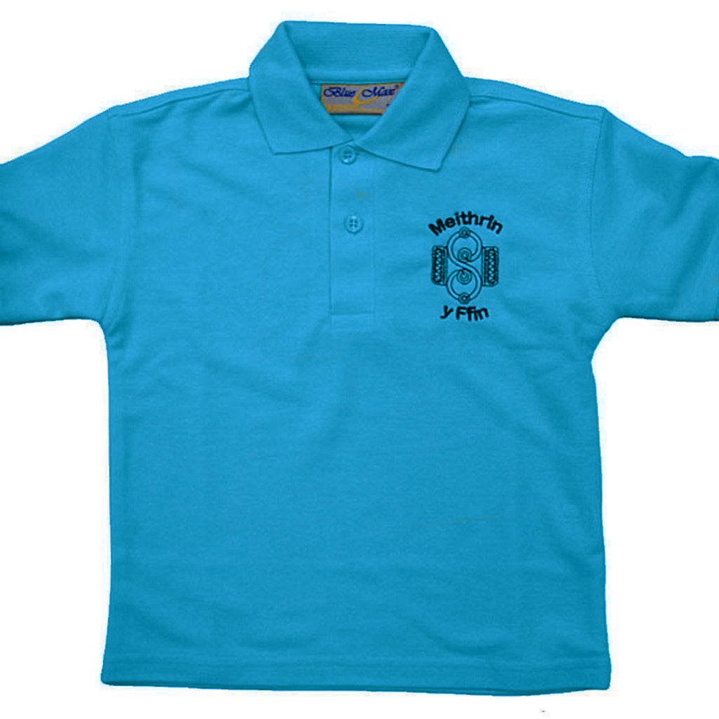 Meithrin Y Ffin School Polo Shirt with Logo