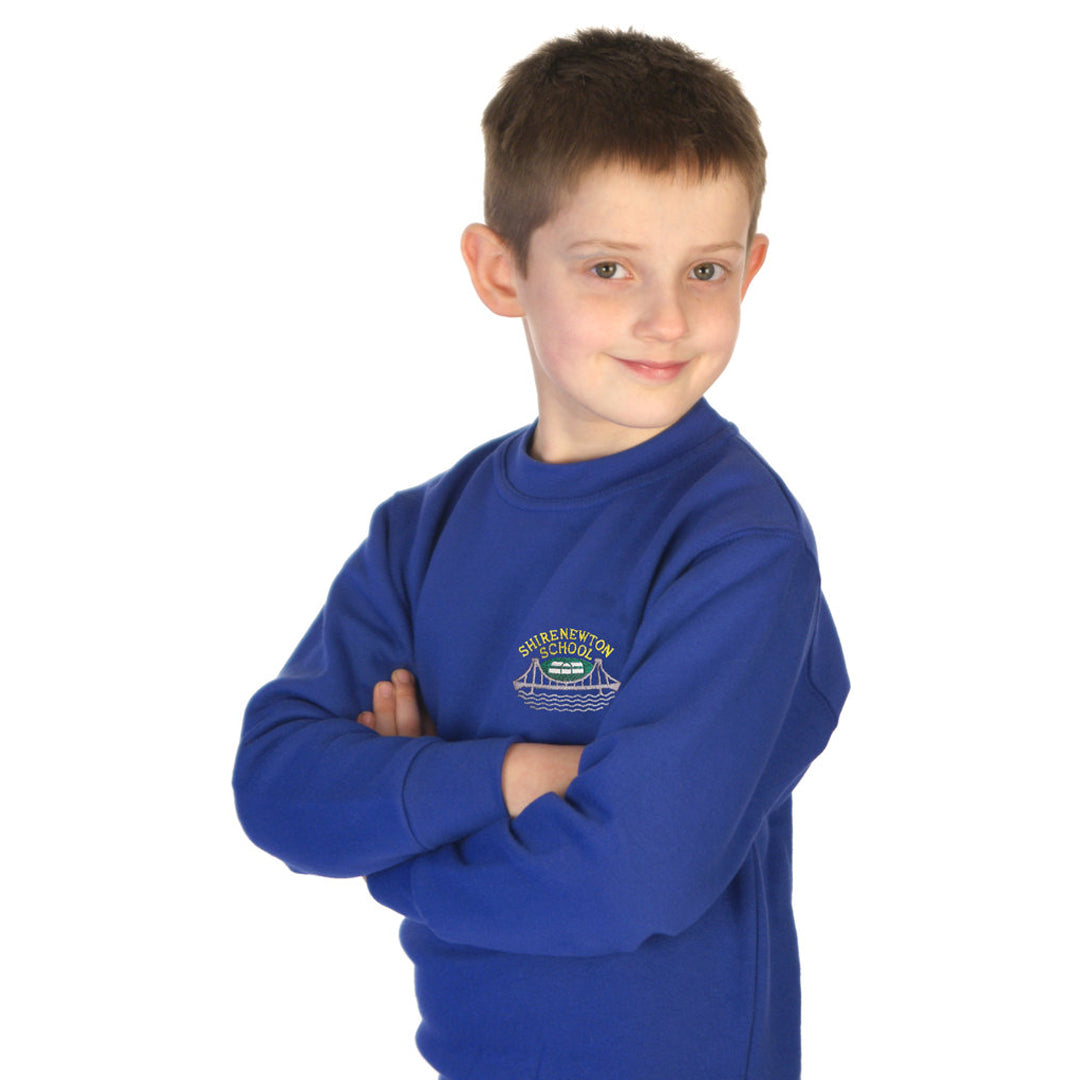 Shirenewton School Sweatshirt with Logo