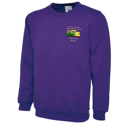 Forest of Dean Model Railway Club Sweatshirt