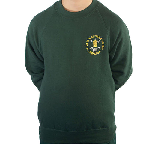 St Mary's RC School PE Sweat Top with Logo