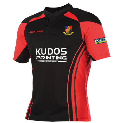 Match Shirt in Red/Black or Royal/White