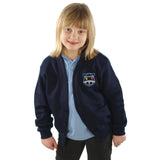 Pembroke School Cardigan Navy with Logo