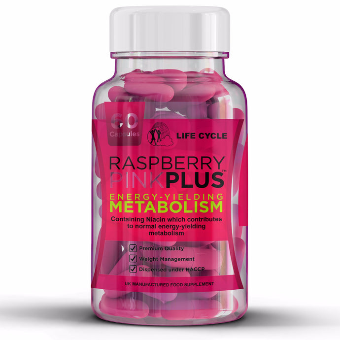 30 Day Raspberry Ketones - Pink Plus - 1000mg