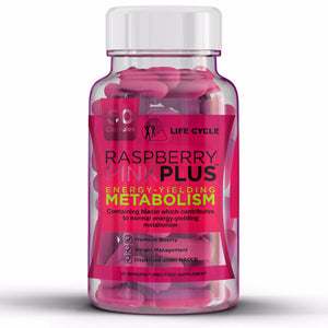 7 DAY - Raspberry Ketones - Pink Plus - 1000mg