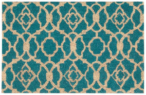 "Waverly Greetings ""Lovely Lattice"" Teal"