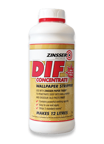 Zinsser DIF Wallpaper Stripper 1 Ltr