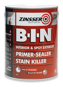 Zinsser BIN Shellac Primer Sealer Stain Killer