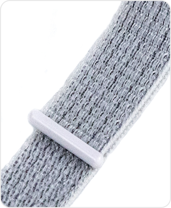 White Nylon Comfort Band