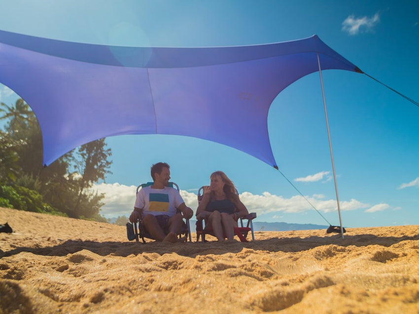 Large Exotic Print Beach Shade Neso Tents